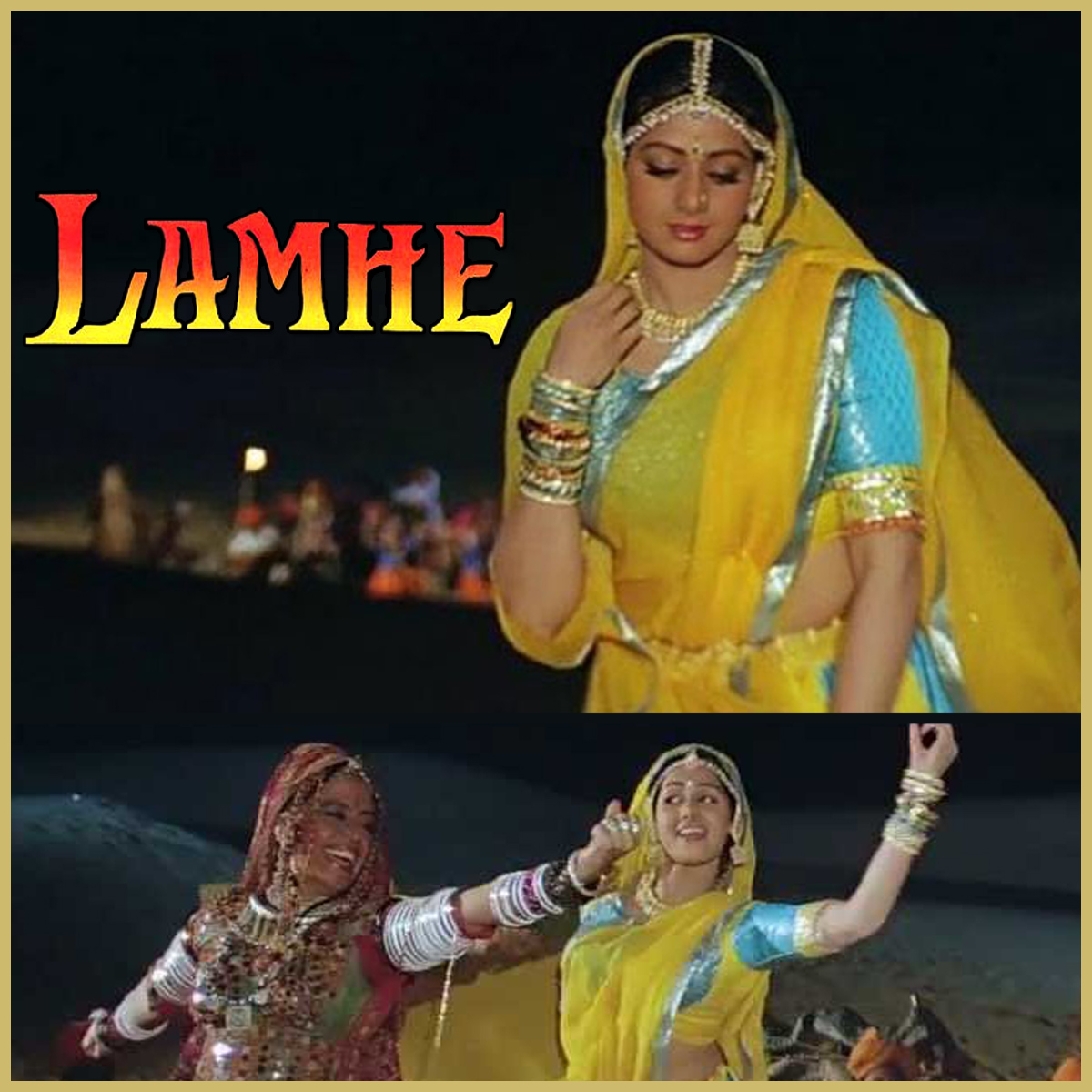 Morni Baga Ma Bole Aadhi Raat Ma Lyrics - Lamhe