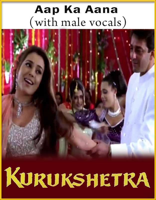 Aap Ka Aana Dil Dhadkana Lyrics from Kurukshetra ...