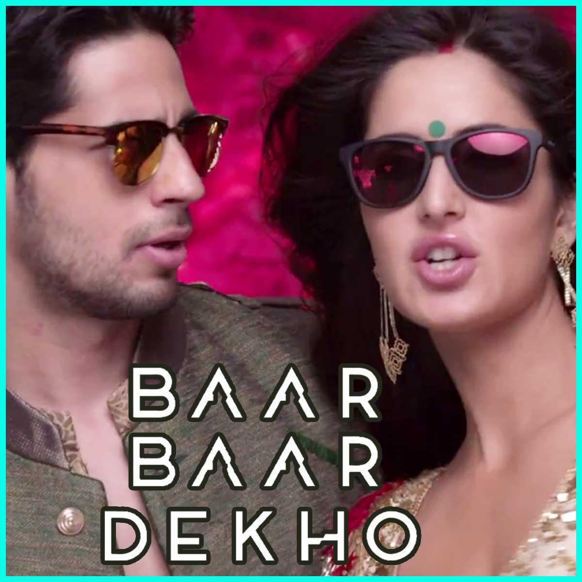 Kaala Chashma Mp3 Karaoke Baar Baar Dekho Karaoke