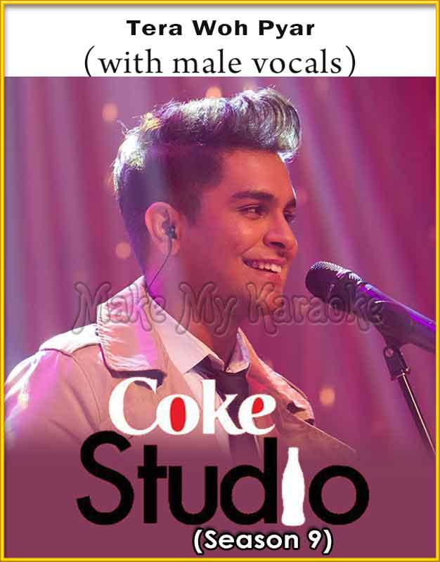 Tera Woh Pyar With Male Vocals Karaoke Coke Studio