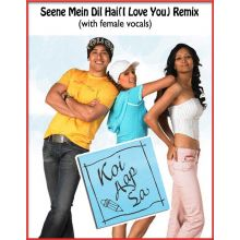 Seene Mein Dil Hai(I Love You) Remix (with female vocals)  -  Koi Aap Sa (MP3 and Video Karaoke Format)