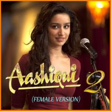 Sun Raha Hai Na (Female) - Aashiqui 2 (MP3 And Video Karaoke Format)
