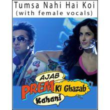 Main Tera Dhadkan Teri (With Female Vocal) - Ajab Prem Ki Ghazab Kahani (MP3 And Video Karaoke Format)