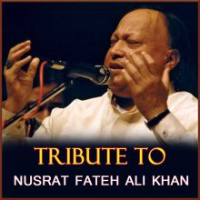 Sanu Ik Pal Chain Na Aave - Tribute To Nusrat Fateh Ali Khan (MP3 And Video Karaoke Format)