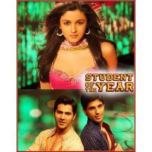 Radha Teri Chunri- Student Of The Year (MP3 and Video Karaoke Format)