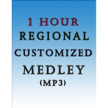 One Hour Non-stop Regional Customized Medley (MP3)