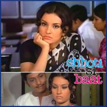 Na Jaane Kyun - Chhoti Si Baat (MP3 And Video-Karaoke Format)