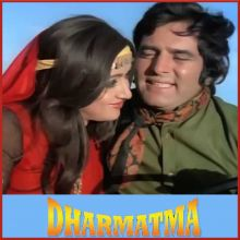 Kya Khoob Lagti Ho - Dharmatma (MP3 And Video Karaoke Format)