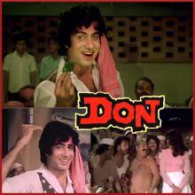 Khaike Paan Banaras Wala - Don (Old) (MP3 And Video Karaoke Format)
