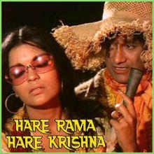 Phoolon Ka Taaron Ka - Hare Rama Hare Krishna (MP3 and Video Karaoke Format)