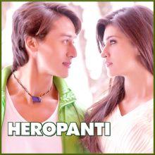 Tere Binaa - Heropanti (MP3 And Video Karaoke Format)