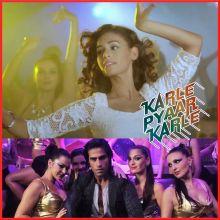 Tanhai - Karle Pyaar Karle (MP3 And Video Karaoke Format)