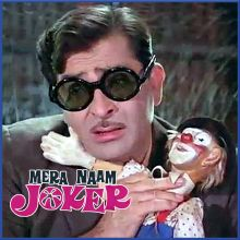 Jeena Yahan Marna Yahan - Mera Naam Joker (MP3 And Video Karaoke Format)