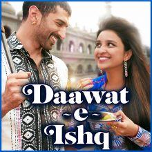 Mannat - Daawat-E-Ishq (MP3 And Video Karaoke Format)