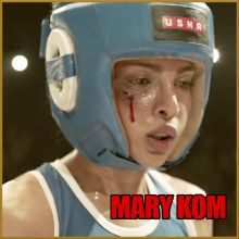 Adhure - Mary Kom (MP3 And Video Karaoke Format)