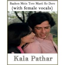 Baahon Mein Tere Masti Ke Dere (With Female Vocals) - Kaala Patthar (MP3 Format)