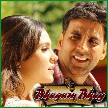 Tere Bin - Bhagam Bhag (Video Karaoke Format)