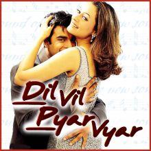Tere Bina Zindagi Se - Dil Vil Pyar Vyar (MP3 Karaoke Format)