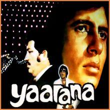 Tere Jaisa Yaar Kahan - Yaarana (MP3 Format)