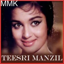 Deewana Mujhsa Nahin Iss Ambar Ke Neeche - Teesri Manzil (MP3 and Video Karaoke Format)