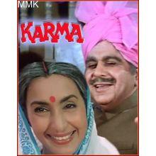 Har Karam Apna Karenge - Karma (MP3 and Video Karaoke Format)