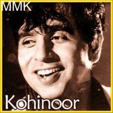 Madhuban Mein Radhika Nache Re - Kohinoor (MP3 and Video Karaoke Format)