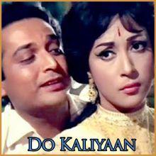 Tumhari Nazar Kyun Khafa Ho Gayi  - Do Kaliyaan (MP3 and Video Karaoke  Format)