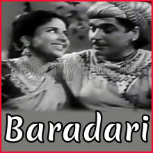 Tasveer Banata Hoon - Baradari (MP3 and Video Karaoke Format)