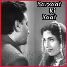 Garjat Barsat Sawan Aayo Re - Barsaat Ki Raat