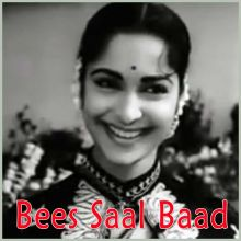 Zara Nazron Se Keh Do Ji - Bees Saal Baad (MP3 and Video Karaoke Format)