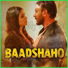Mere Rashke Qamar - Baadshaho (MP3 And Video-Karaoke Format)