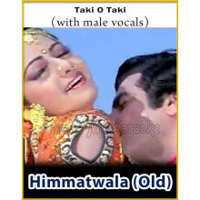 Taki O Taki (With Male Vocals) - Himmatwala (MP3 Format)
