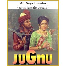 Gir Gaya Jhumka (With Female Vocals) - Jugnu (MP3 Format)