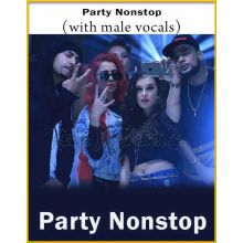 Party Nonstop (With Male Vocals) - Party Nonstop (MP3 Format)