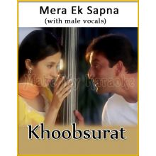 Mera Ek Sapna (With Male Vocals) - Khoobsurat (MP3 Format)