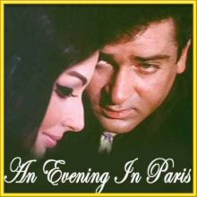 Raat Ke Humsafar - An Evening In Paris (MP3 and Video Karaoke Format)