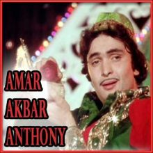 Parda Hai Parda - Amar Akbar Anthony (Video Karaoke Format)