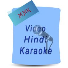 Unse Mili Nazar- Jhuk Gaya Aasmaan (MP3 and Video Karaoke Format)