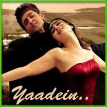 Cham Cham Chamakti Sham Hai | Yaadein | Alka Yagnik | Sonu Nigam | Download Hindi Karaoke Songs |