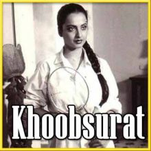 Piya Bawari - Khoobsoorat (MP3 and Video Karaoke Format)