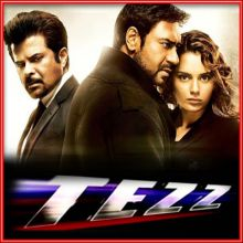 Tere Bina -Male Version- Tezz (MP3 and Video Karaoke Format)
