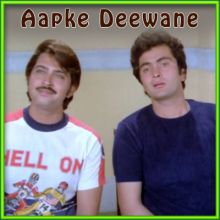 Mere Dil Mein Jo Hota Hai - Aapke Deewane (MP3 and Video Karaoke Format)