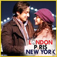 Wo Dekhne Mein -Male- London Paris New York  (MP3 and Video Karaoke Format)