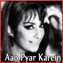 Bahaare Husn Teri | Aao Pyaar Karein | Mohd. Rafi | Download Bollywood Karaoke Songs |