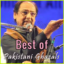 Hangama Hai Kyun Barpa - Best of Pakistani Ghazals - Pakistani (MP3 and Video Karaoke Format)