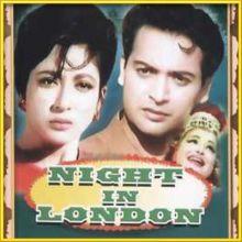 Bahosho Havaas Main | Night In London | Mohd. Rafi | Download Bollywood Karaoke Songs |