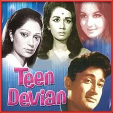 Kahin Bekhayal Hokar - Teen Deviyan (MP3 and Video-Karaoke  Format)