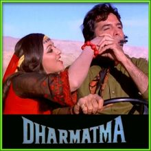 Tere Chehere Mein Woh Jadu - Dharmatma (MP3 and Video Karaoke Format)