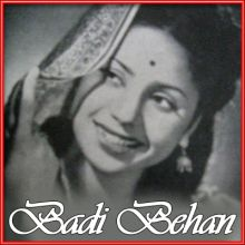 Chale Jana Nahi Nain | Badi Behan | Lata Mangeshkar | Download Bollywood Karaoke Songs |