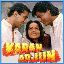 Yeh Bandhan To- Karan Arjun (MP3 and Video Karaoke Format)